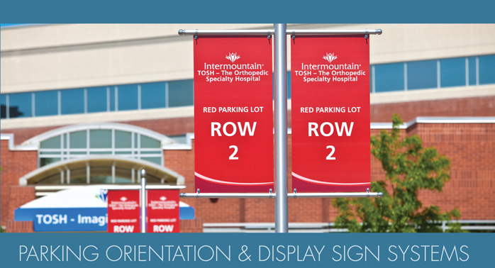 Display Flags and Disply Sign Systems