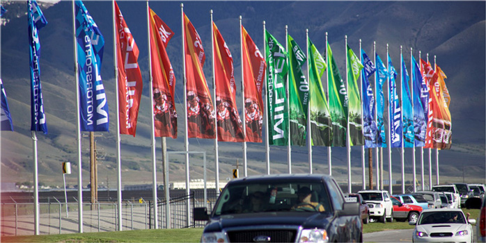 Miller Sports Tall Flag Poles